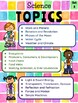 4th Grade Science Choice Boards  **EDITABLE**