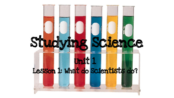 4th Grade Science Fusion Powerpoint: Studying Science Unit