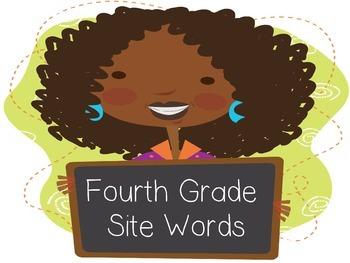 4th Grade Site Words