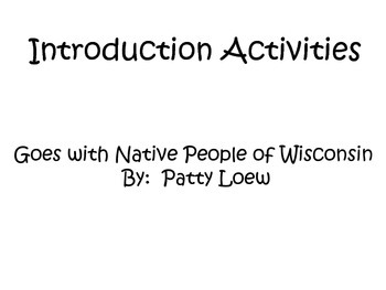 4th Grade Social Studies Interactive Notebook Wisconsin Na