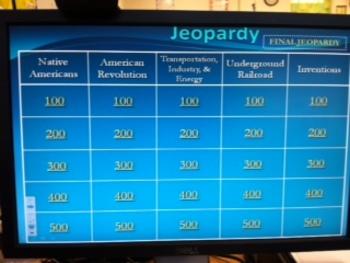 4th Grade Social Studies SLO Jeopardy Review