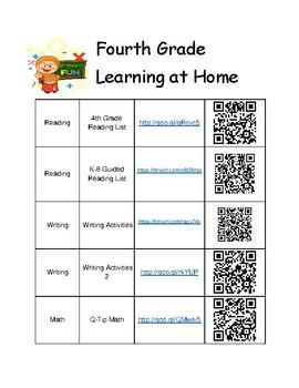 4th Grade Summer Learning Activities