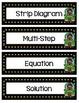 4th Grade TEKS Algebra with Multi Step Problems Interactiv