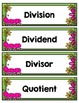 4th Grade TEKS Division Strategies Interactive Journal