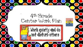 4th Grade Wonders: Complete Year Center to do List