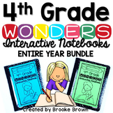 4th Grade Wonders INTERACTIVE NOTEBOOK ENTIRE YEAR BUNDLE