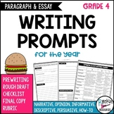 4th Grade Paragraph and Essay Writing for the Year