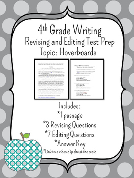 4th Grade Writing STAAR Test Prep: Hoverboards