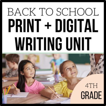 4th Grade Writing Unit - Loving Writing - Unit 1 {CCSS Aligned}