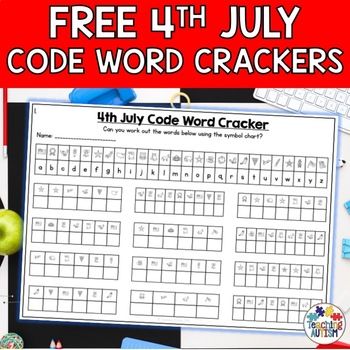 4th July Code Word Cracker