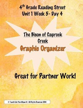 "4th Reading Street- Unit 1 Week 5 Graphic Organizer for ""B"