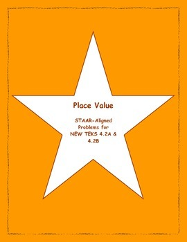 4th STAAR Place Value New TEKS 4.2A &4.2B