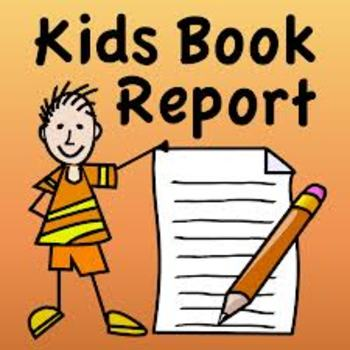 4th and 5th grade Book Report Rubric