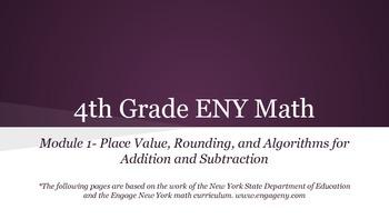 4th grade Engage NY Math Module 1 Topic C Lesson 7