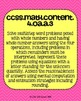 4th grade Math Common Core Standards Posters Operations an