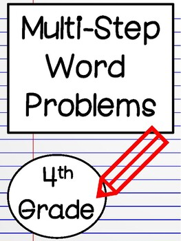 Word Problems: Common Core State Test Prep