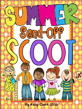 4th grade Summer Send-Off SCOOT and Memory Book~ Classmate