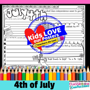 4th of July Activity Poster