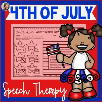 4th of July Speech Therapy