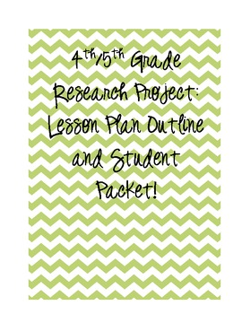 4th/5th Grade Research Packet