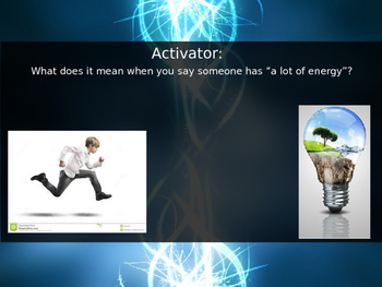5.1 What is Energy - Work, Power, and Energy -  Kinetic an