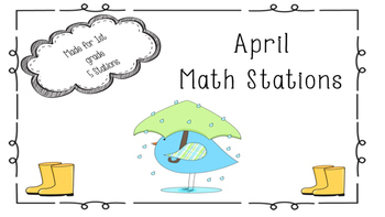 5 April Math Stations
