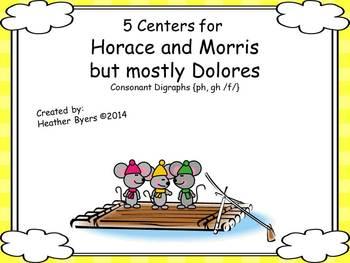 5 Centers for Horace & Morris but mostly Dolores Gr 2 digr