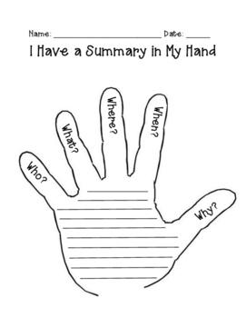 5 Finger Summary
