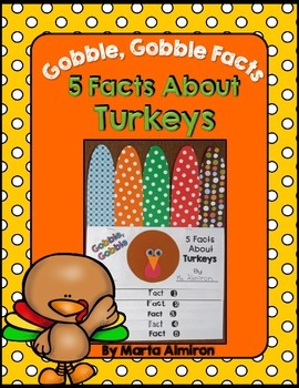 5 Facts About Turkeys Flipbook and Sight Word Game