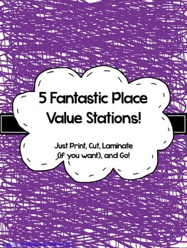 5 Fantastic Place Value Stations!