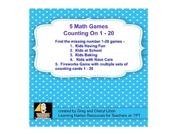 5 Games for Counting On - Counting and Cardinality