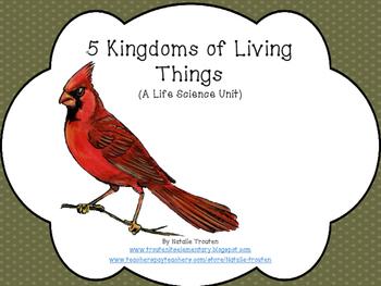 5 Kingdoms of Living Things
