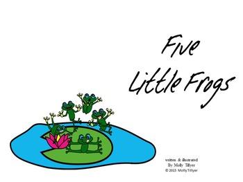 5 LITTLE MONKEYS ADAPTATION  *  5 LITTLE FROGS