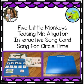 5 Little Monkeys Swinging from a Tree: Fun number song adapted
