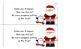 Christmas Printable Book & Subtraction Word Problems