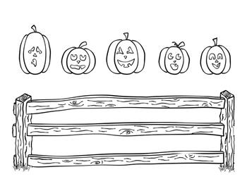 5 Little Pumpkins Finger Play