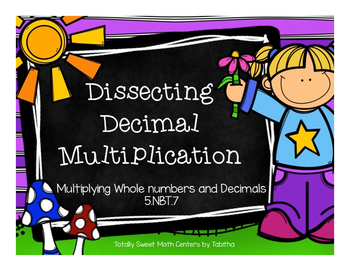 5.NBT.7- Dissecting Decimal Multiplication: Multiplying Wh