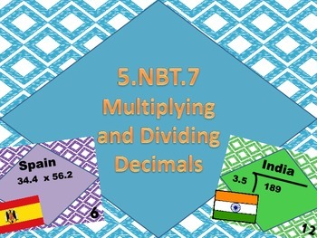 5.NBT.7 Task Cards bundle