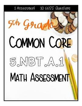 5.NBT.A.1 Assessment