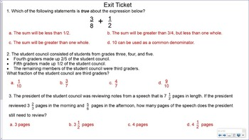 5.NF.2 SMART Board Lessons [83 Slides, ~1 week of instruction]