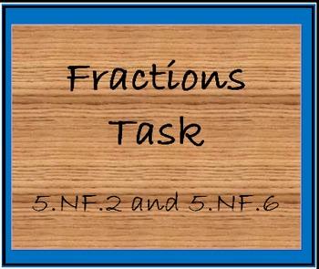 5.NF.2 and 5.NF.6 Potting Soil Task