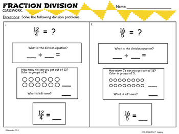 5.NF.7 Fraction Division