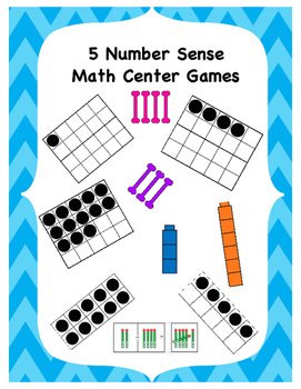 5 Number Sense Centers