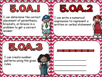 5.OA Task Cards