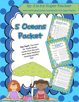 5 Oceans Packet