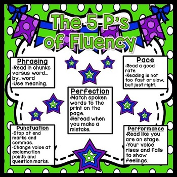 5 P's of Reading Fluency