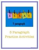 5 Paragraph Essay Practice