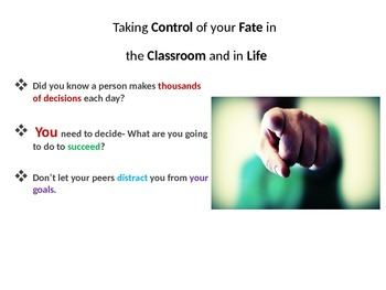 5 Point Policy- Classroom Management Strategy