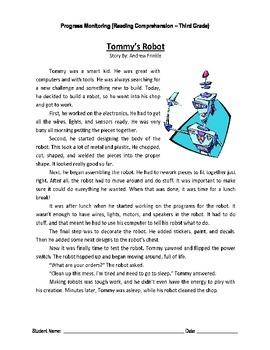 5 Reading Comprehension - Grade 3 (Progress Monitoring)