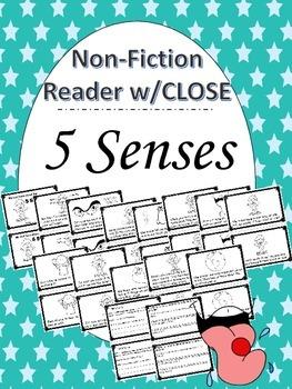 5 Sense Nonfiction Close Reading Book